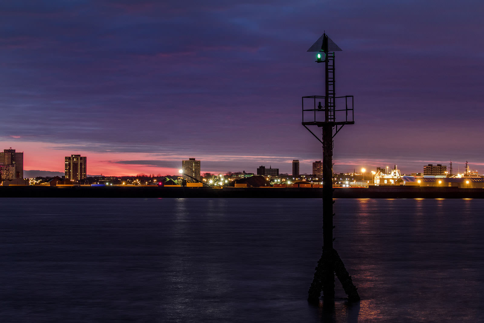 Across The Mersey Liverpool