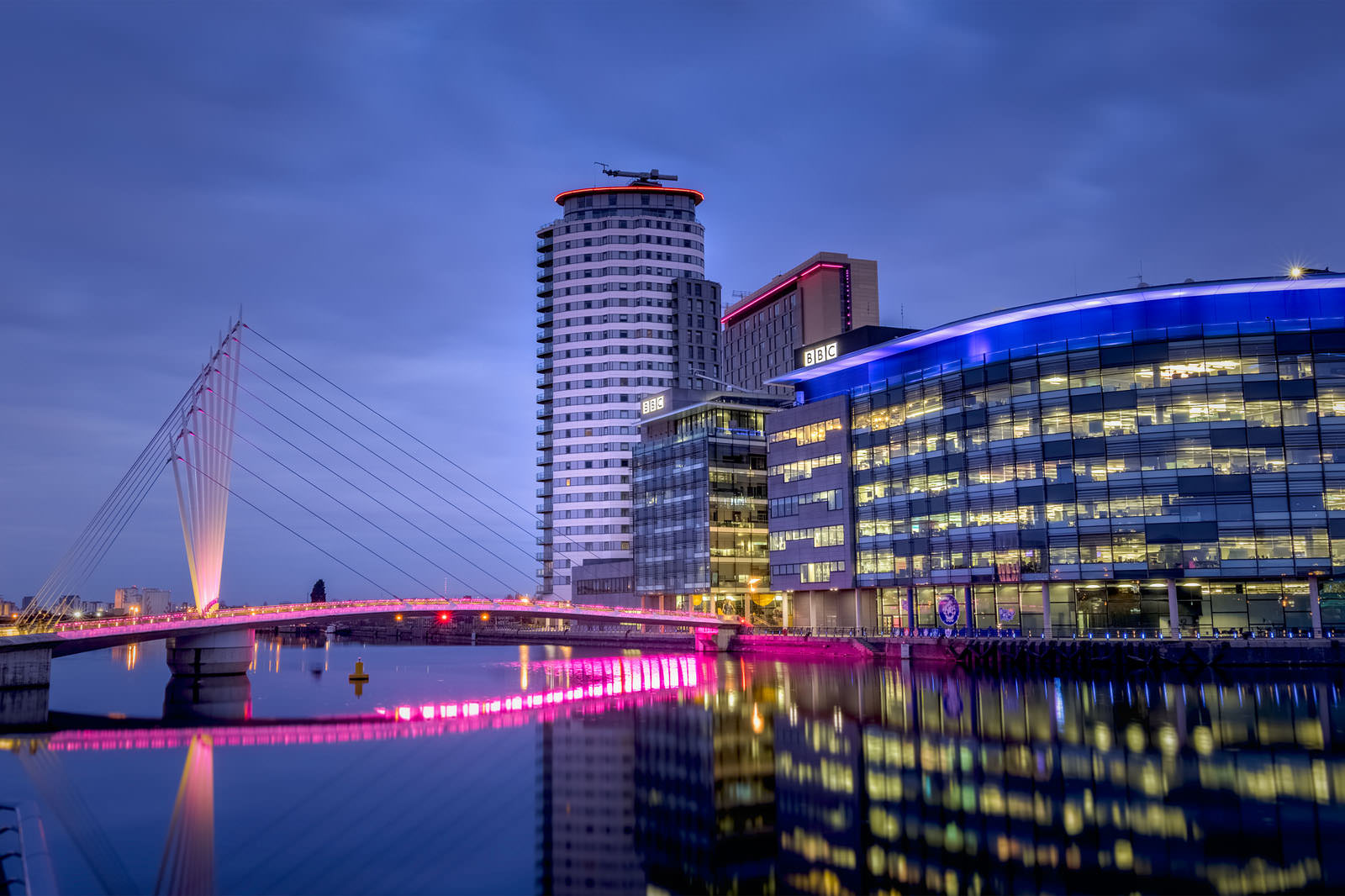 BBC Media City & Salford Quays - Manchester