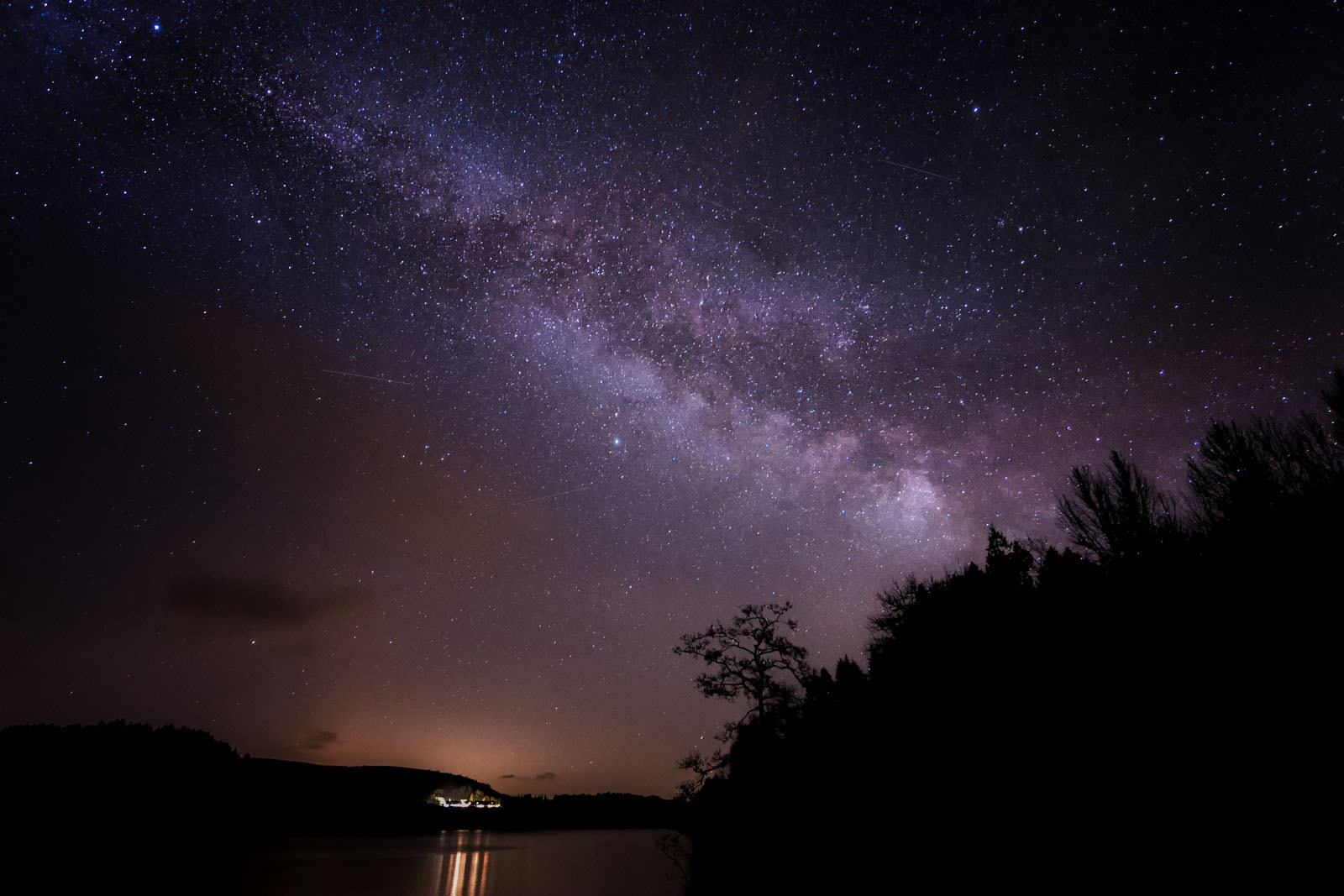 Milky Way Over Lake Vyrnwy