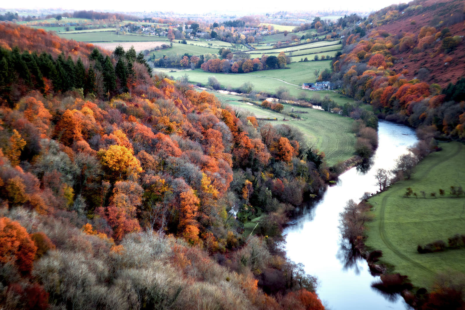 View From Yat Rock, Gloucestershire