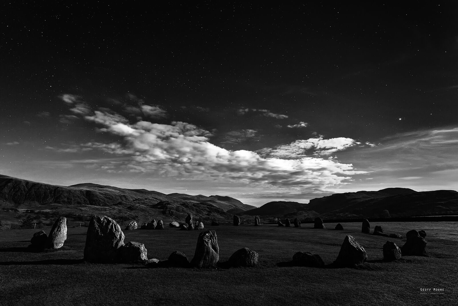 Moonstones of Castlerigg Stone Circle