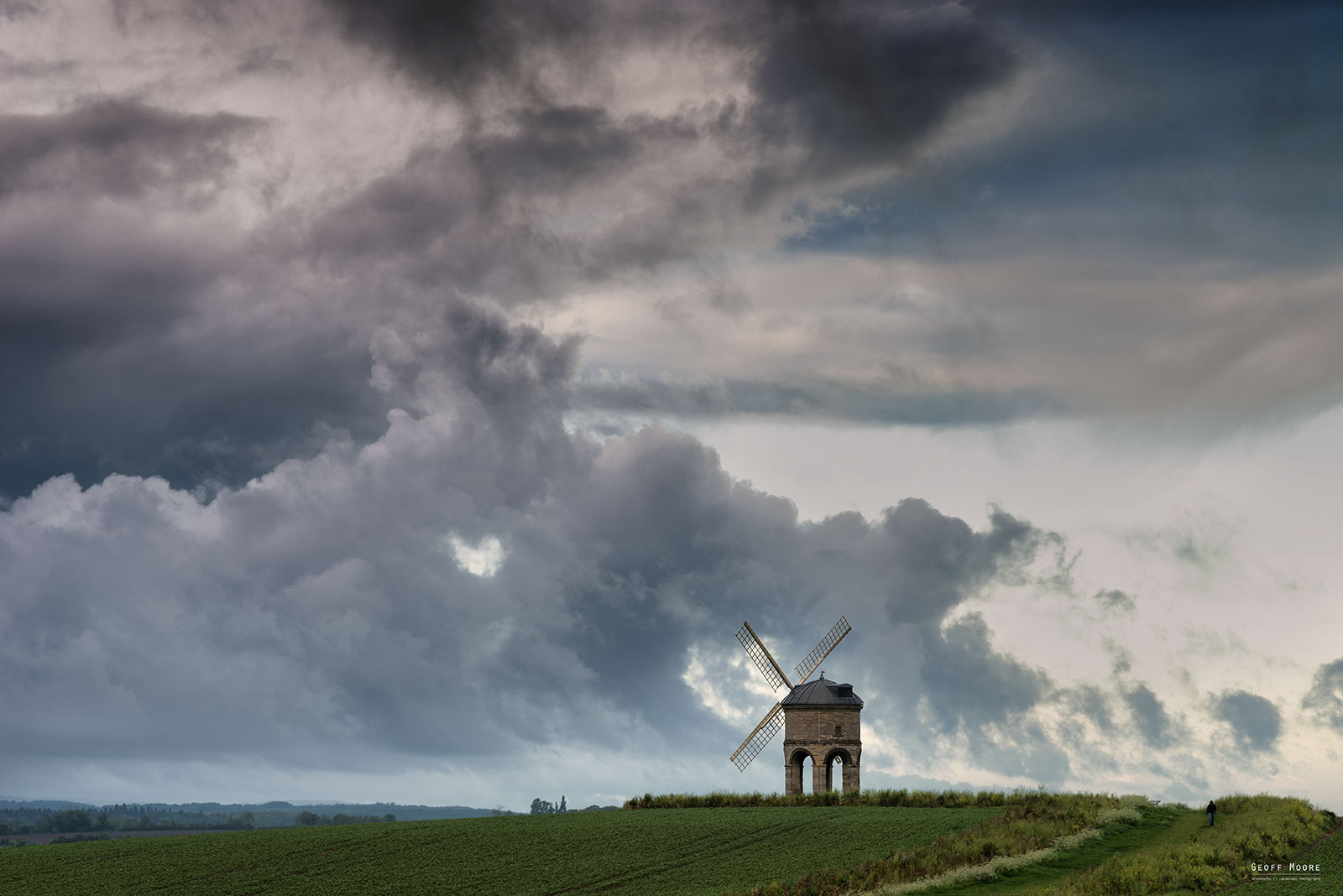 Storm Clouds Over Chesterton Windmill