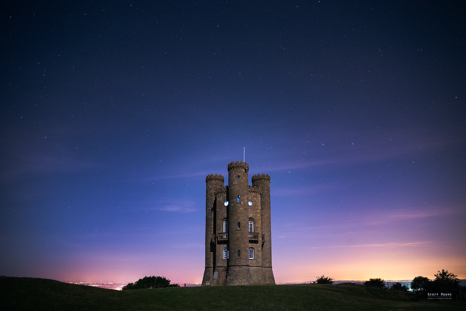 Broadway Tower & The Perseid Meteor Shower