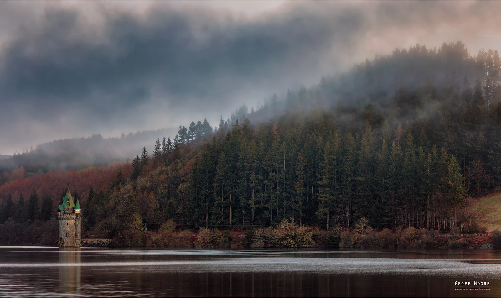 Morning Mist -  Lake Vyrnwy Wales