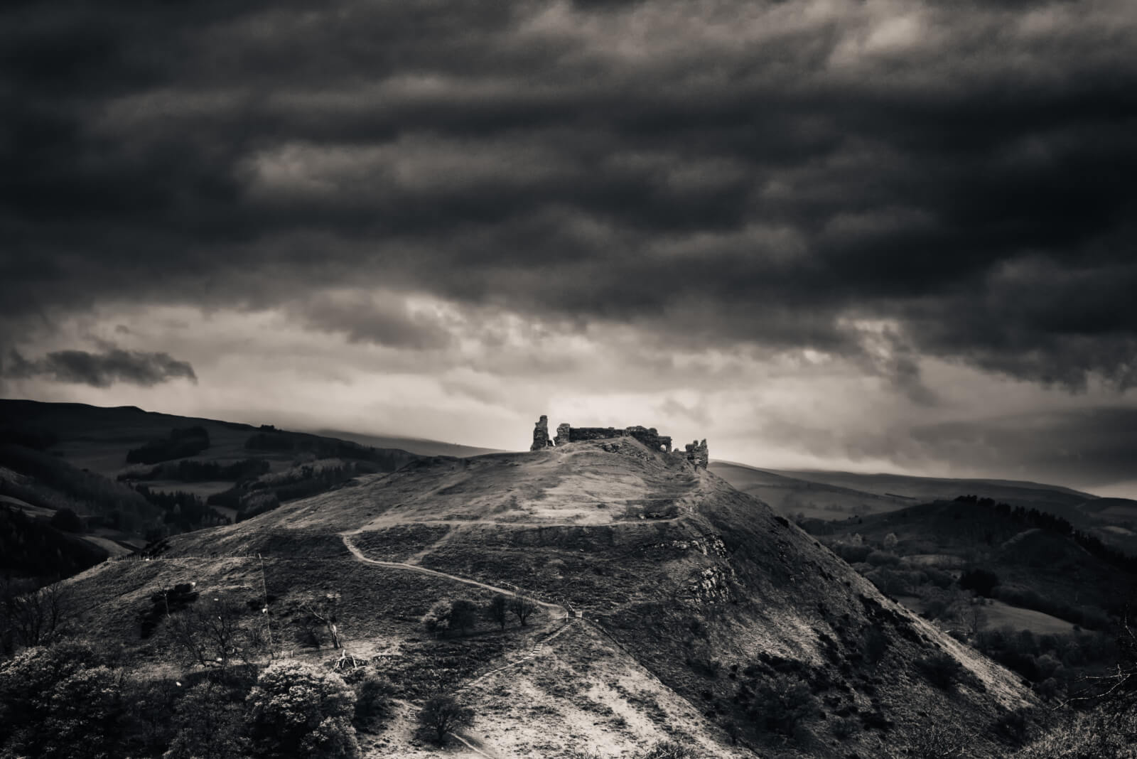 The Path to Valhalla - Castell Dinas Bran