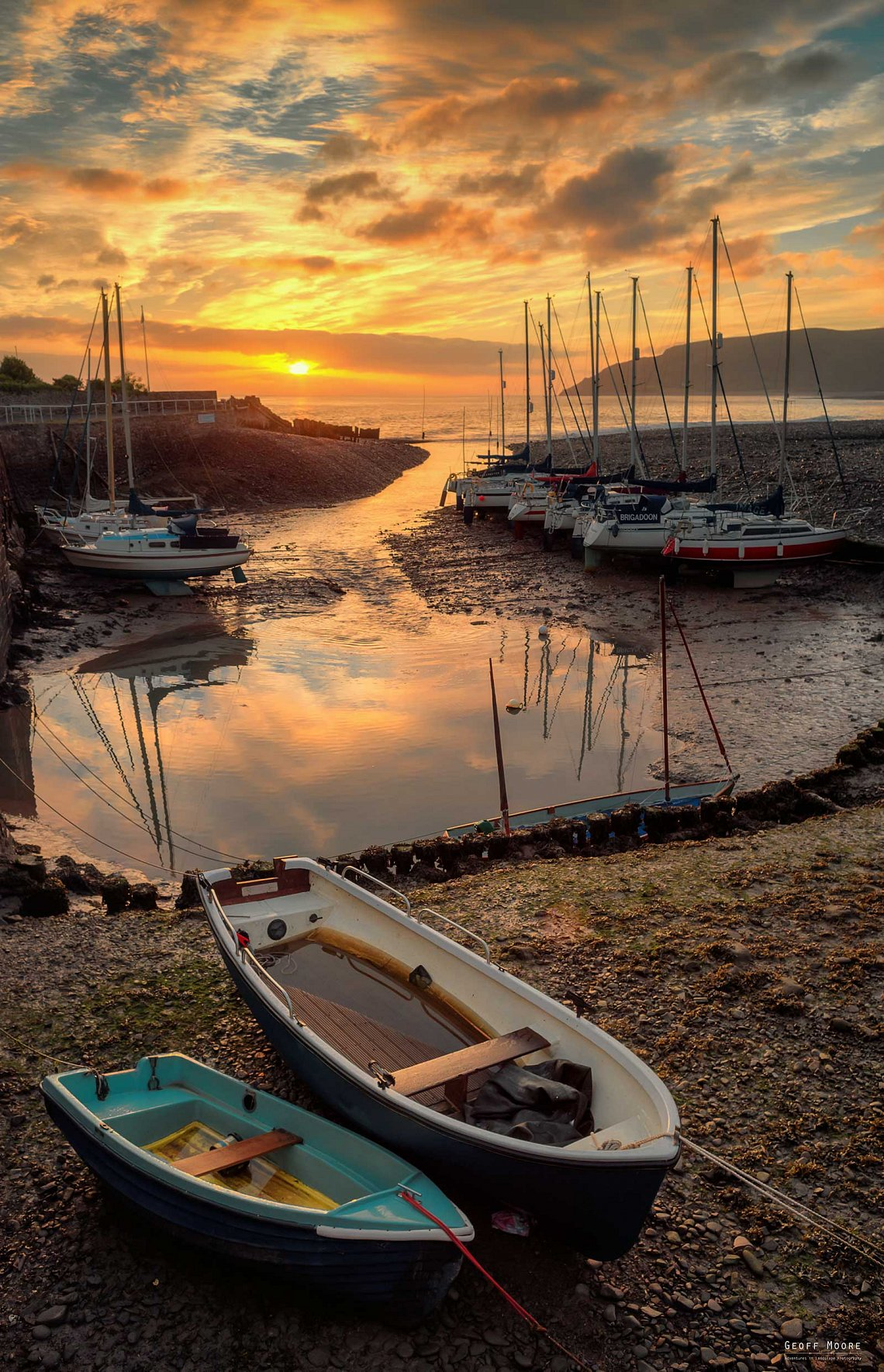 Porlock Sunrise Boats