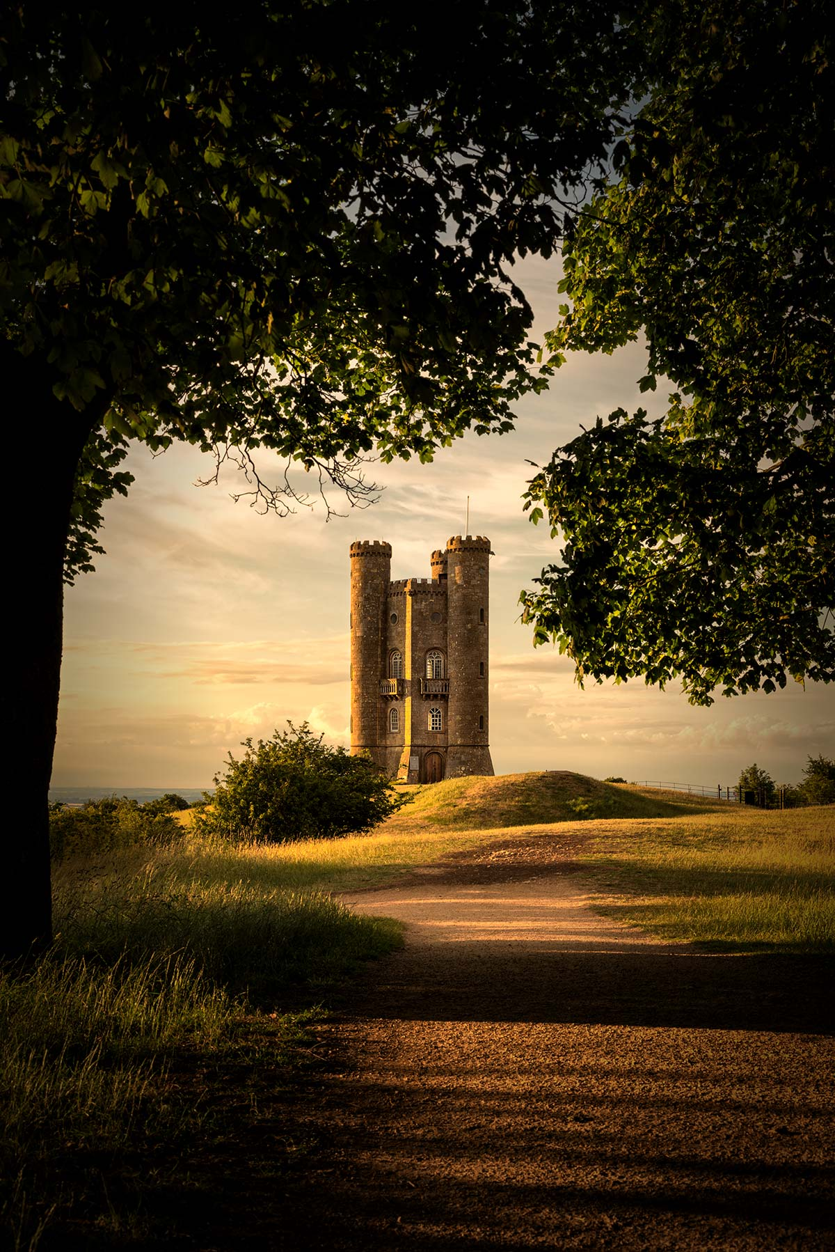 Broadway Tower - Sunny Sunday